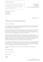 initiativbewerbung muster 2 - Peek Und Cloppenburg Bewerbung